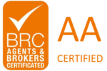 BRC certificate logo Agents & brokers